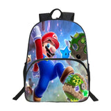 2017 New Style Oxford 16 Inches Super Mario Teenager Boys School Bags for Kids Bookbag Children Printing Cartoon School Backpack