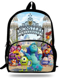 16-inch Mochilas infantis Kids Boys Backpack Monsters University School Bags For Girls Cartoon Mike Wazowski Backpack Child