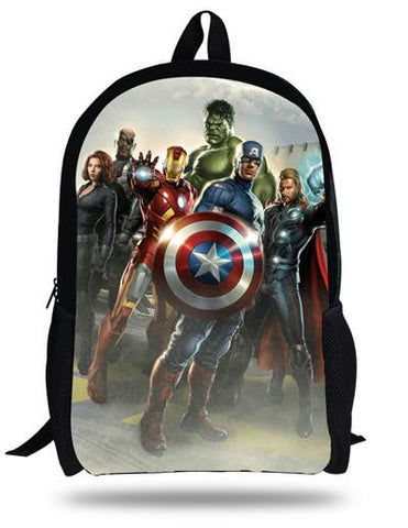 16inch The Avengers Thor Backpack Children Boy School Bags Print Thor –  2018 AT 142 30 (Animetee.com Friends) f9094152a2c78