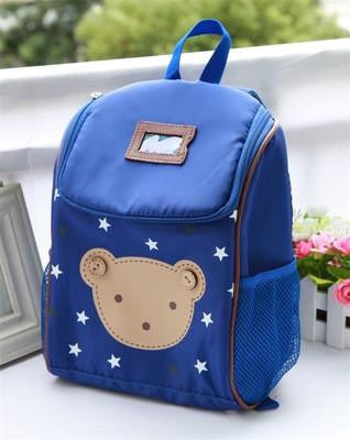 2017 New Fashion Children Cartoon Bear School Bags For Girls School Backpacks Boys Bgs For Kids Kindergarten Bag Mochila Escolar