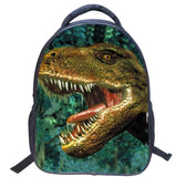 2017 New Korean Style Cartoon Animals Small School Bag For Boy Girls Bag Kids Backpack Cotton Dinosaurs Mochila Escolar Infantil