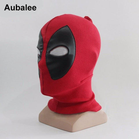 Deadpool Dead pool Taco Aubalee New Cool  Mask Superhero Cosplay Costume Adult Halloween Party Hats X-men Death Rib Fabrics Full Face Masks AT_70_6