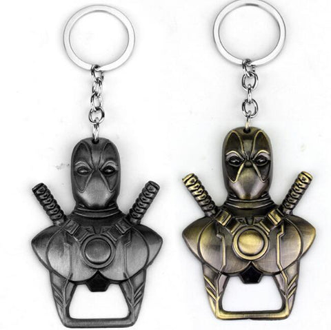 Deadpool Dead pool Taco  Metal Keychain Bottle Opener  X-men Collectible Key Ring Hot AT_70_6