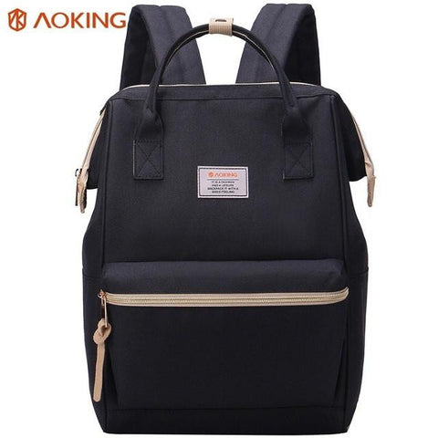 Aoking 2017 New Men Women Stylish Daily Backpack Nylon Laptop Summer Backpack with anti-theft pocket Schoolbags for Teenagers