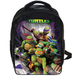 13 Inch Ninja Turtles TMNT  School Bags for Kindergarten Children kids School Backpack for Girls Children's Backpacks Mochila