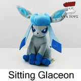 "Pokemon Plush Toys 7"" Sitting Umbreon Eevee Espeon Jolteon Vaporeon Flareon Glaceon Leafeon Plush Doll Kids Toys For Children - Animetee - 6"