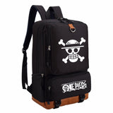 Anime One Piece Luffy  backpack Cartoon fashion casual backpack teenagers Men women's Student School Bags travel bag