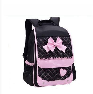 2016 Fashion Children School Bags For Girls Waterproof Nylon Primary Backpack School Backpacks Kids Bags Free Shipping