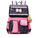 2016 Fashion School Backpack for Girls Students Shoulder Bag Children's Schoolbag Breaths Waterproof Reflects kid Bag