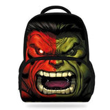 14Inch Popular Children School Bags Backpack Hulk Print Bookbag For Kids Boys Girls