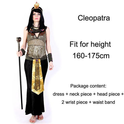 ... Halloween Costumes Ancient Egypt Egyptian Pharaoh King Empress Cleopatra Queen Priest Costume Cosplay Clothing for Men ...  sc 1 st  Animetee.com & Halloween Costumes Ancient Egypt Egyptian Pharaoh King Empress ...