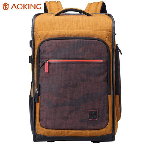 Aoking Vintage Men Women Backpacks School Bags for Teenagers Boys Girls Large Capacity Laptop Backpack Fashion Men Backpack