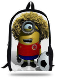 16-inch Kids Backpack Boy Despicable Me Minions School Bags Children Girls Aged 7-13 Mochila Infantil Menino