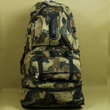 50L Large Military Backpack Nylon Pack  Travel Rucksack Bicycle  Road Bags Bolsas Mochila W599