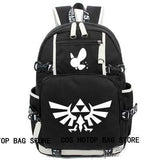 Anime Backpack School kawaii cute The legend of zelda Backpack Cosplay Fashion Canvas Bag Luminous Schoolbag Travel Bags packsack AT_60_4