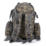 50 L Military Rucksacks Backpack 3 Day Assault  bag - AUC Camouflage