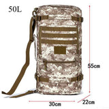 50 litres of nylon multi-purpose backpacking trip large-capacity high-quality wear-resisting bag female inclined shoulder