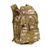 40L Waterproof Army Fans Rucksack Multi Sytle Multifunction for Hike Trek Camouflage Traveling Rucksack Casual Shoulder Bag J12