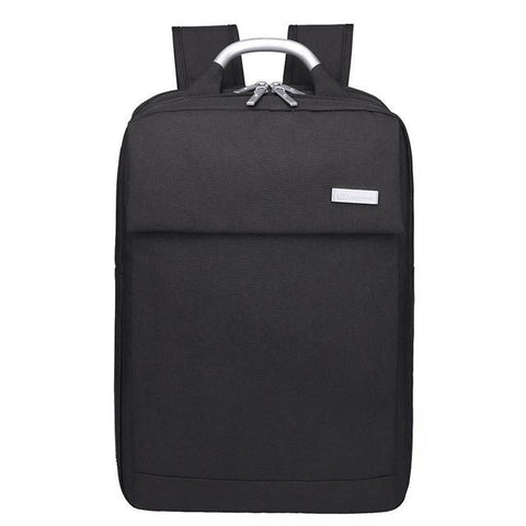 Black Gray Oxford 15.6 Inch Men Laptop Backpacks For Teenager Boys Preppy Style College School Bags Mochila Travel Backpack