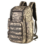 40L Large Capacity Military Assault Nylon Backpack For Women Men Waterproof Travel Mountaineering Hiker Daypack Laptop Rucksack