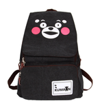 Anime One Piece Backpack Student Cartoon School Bags Canvas Travel Backpacks Durable Teenager Daily Bag