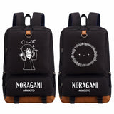 Anime Noragami Aragoto Yato bag backpack for teenagers Men Women's boy girl's Student School Bags travel Shoulder Bag Cosplay