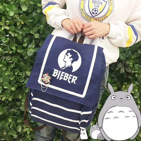 justin bieber  what do you mean Rucksacks backpack for teenagers  girls Men women's Student School Bags travel Shoulder Bag
