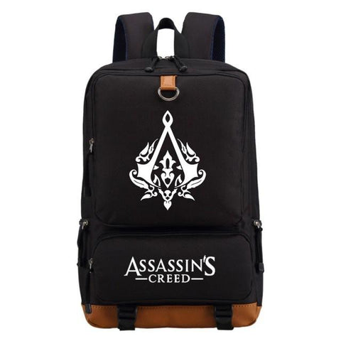 Assassins Creed  casual backpack Boy Girl for teenagers Men women's Student School Bags travel Shoulder Bag Laptop Bags bookbag