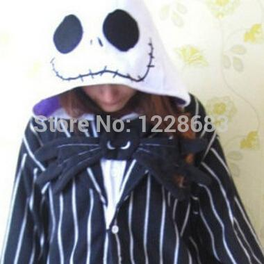 0fc71802ab New Nightmare Before Christmas Jack Skellington Skeleton Anime Pajamas  Pyjama Cosplay Costumes Adult Onesies Halloween Costume ...