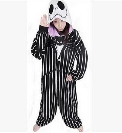 86369cd252 New Nightmare Before Christmas Jack Skellington Skeleton Anime Pajamas –  2018 AT 142 30 (Animetee.com Friends)