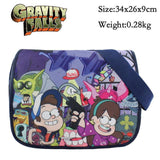 Anime JoJo's Bizarre Adventure Polyester Shoulder Bag/Messenger Bag/School Bag Printed with JOJO etc