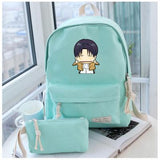 Anime Attack on Titan Cosplay Male and female students campus leisure fashion backpack travel backpack child birthday gift