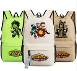Boku no Hero Academia Backpack Bag My Hero Anime bags Student Oxford Schoolbags Gift