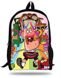 16-Inch Kids Cartoon Backpacks Uncle Grandpa Bag For Children School Bags For Girls Boys Backpacks Personalized For Teenagers