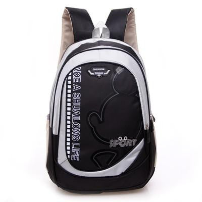 2016 children orthopedic school bag printing backpack for boys girls waterproof school satchel kids schoolbag bookbag mochila