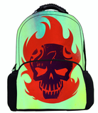 17 Inch Suicide Squad School Bags for Teenagers Cartoon Prints Boys Girls Causal Daily Bags Women Mochilas Men Tourism Backpacks