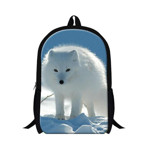 78cf06713e5c Dispalang Fox Animal 3D Printing School Bag For Teenagers Girl Rucksac –  2018 AT 142 30 (Animetee.com Friends)