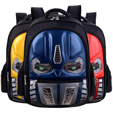 0ad0800358 Transformers Children s Backpack Boys Animation Cartoon Autobots School Bags  For Boys Girls Primary Students Backpacks ...