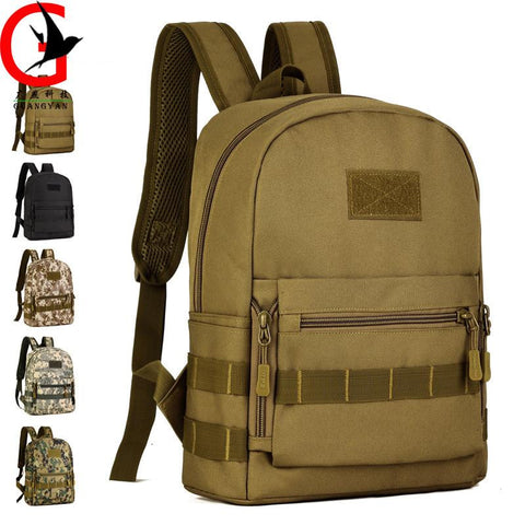10 L tactics small backpack mini casual shoulder bag primary schoolbag fashion Men & women backpack Camouflage travel bag