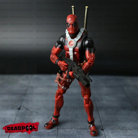 Deadpool Dead pool Taco Super Hero Justice League X-MAN  Action Figure Toys ChristmasToy Model Without Box AT_70_6