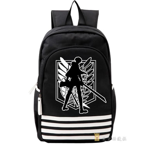Japanese Anime Bag  Attack on Titan Cosplay  man and woman backpack travel backpack child birthday present AT_59_4