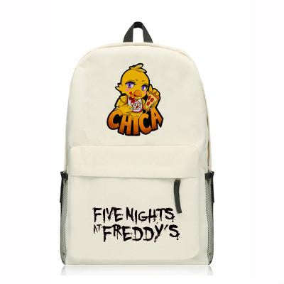 Anime Five Nights At Freddys Backpack Cartoon Game Bear Bags Oxford Student School Bag Unisex