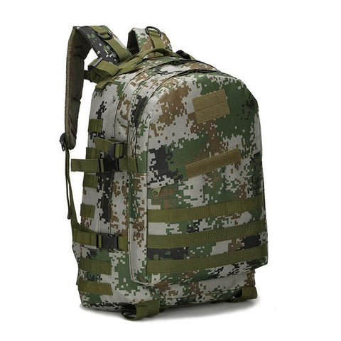 30819d63fc1a 40L Molle Military Backpack 3P Attack Backpack Army Patrol Double Shoulder  Rucksuck Waterproof Military Assault Backpack X50