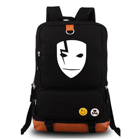 Japanese Anime Bag Darker Than Black Luminous Backpack Cospaly  Shoulder Laptop Fashion School Bags Mochila Gift AT_59_4