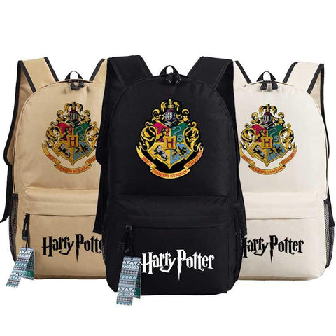 Japanese Anime Bag New fashion hot-sale harry potter men Backpack Fashion Unisex women Travel Bag  oxford Schoolbags male female shoulder bag AT_59_4