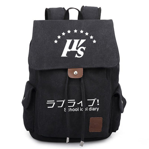Japanese Anime Bag New  LoveLive Canvas Backpack School Bag Satchel Rucksack Unisex Leisure Shoulder Travel Bags AT_59_4