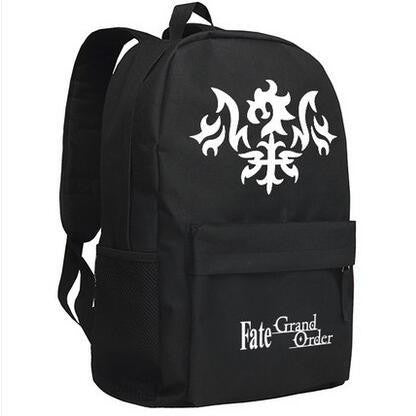 Japanese Anime Bag  FGO bags Fate grand order Alter Cosplay Backpack cartoon Oxford School Bag Unisex AT_59_4