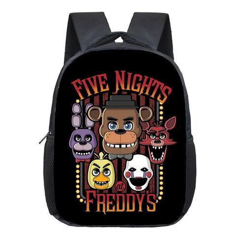 12 Inch Five Nights At Freddy's Cartoon Shoulderbag Children School Bag#722Kids Backpack Students Book Bag For Boys Girls