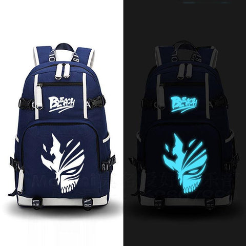 Japanese Anime Bag Bleach Backpack Cosplay Death Note  Canvas Bag Luminous Schoolbag Travel Bags AT_59_4