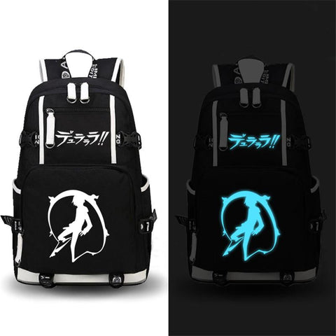 Japanese Anime Bag High Quality 2017 New Durarara 3way standoff DRRR Printing  Backpack Canvas Cartoon School Bags Large Capacity Laptop Bags AT_59_4